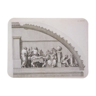 Hippocrates (c.460 BC-c.377 BC) Teaching, from 'A Rectangular Photo Magnet