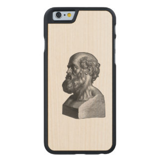 Hippocrates Carved® Maple iPhone 6 Case