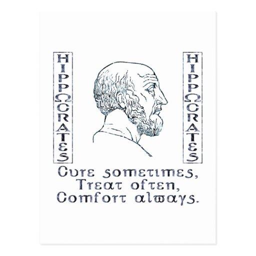 Hippocrates Postcard