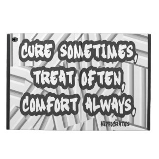 Hippocrates Quote Cure Treat Comfort Powis iPad Air 2 Case