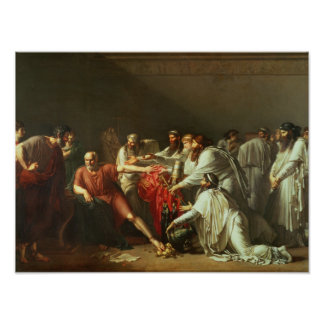Hippocrates  Refusing the Gifts of Artaxerxes I Poster