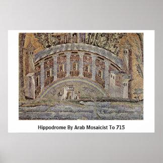 Hippodrome By Arab Mosaicist To 715 Print