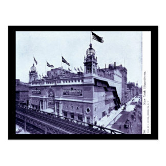 Hippodrome, New York City Vintage Postcard