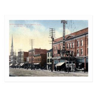 Hippodrome Theatre, Elizabeth, New Jersey Vintage Postcard