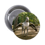 Hippogriff 2 Inch Round Button