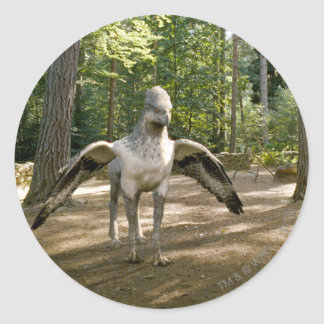 Hippogriff Classic Round Sticker
