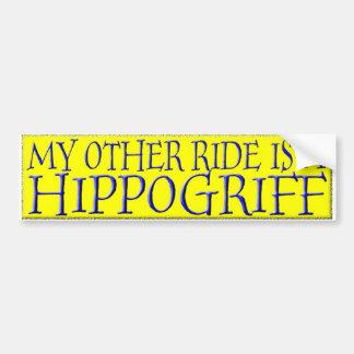 HIPPOGRIFF PEGATINA PARA AUTO