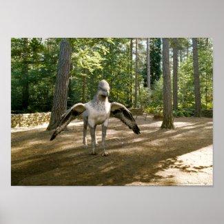 Hippogriff print