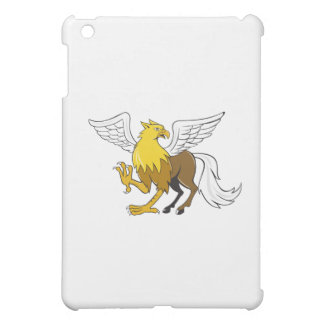 Hippogriff Prancing Isolated Cartoon Case For The iPad Mini
