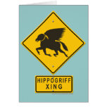 Hippogriff XING Greeting Cards