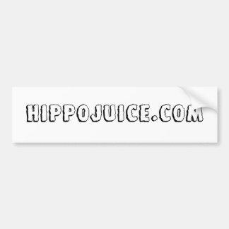 Hippojuice.com - Customized Car Bumper Sticker