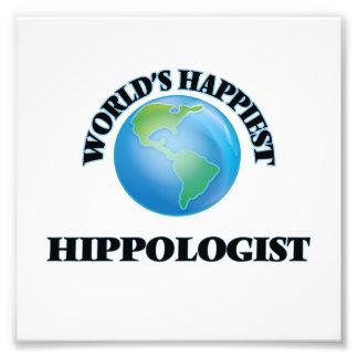 Hippologist más feliz del mundo cojinete