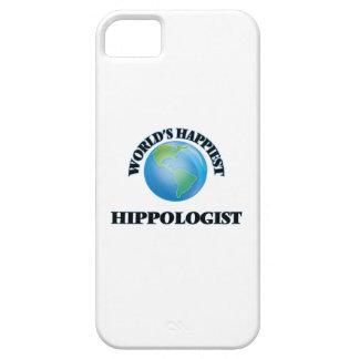Hippologist más feliz del mundo iPhone 5 Case-Mate fundas