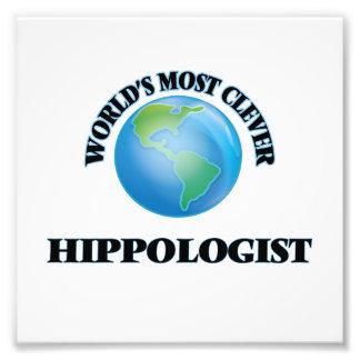 Hippologist más listo del mundo fotografía