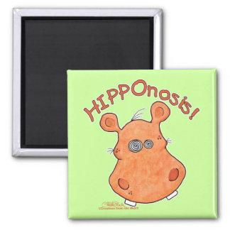 ¡HIPPOnosis! Imán Cuadrado