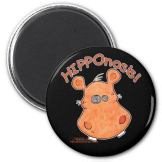 ¡HIPPOnosis! Imán Redondo 5 Cm