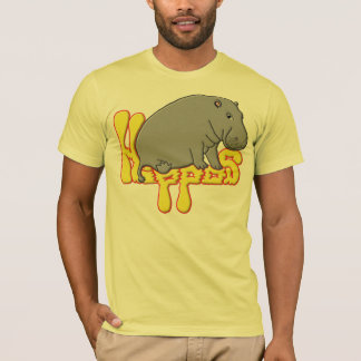 Hippopotame lourd - jaune T-Shirt