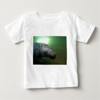 Hippopotamus Abstract Baby T-Shirt