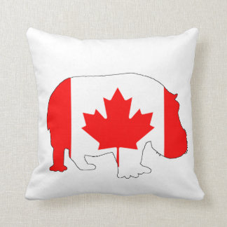 Hippopotamus Canadá Cojín Decorativo