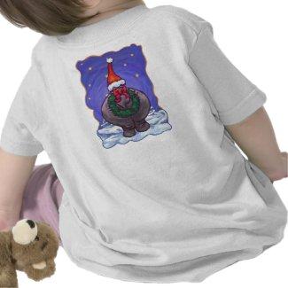Hippopotamus Christmas Shirts