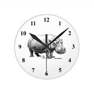 Hippopotamus Clocks