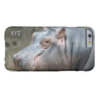 Hippopotamus custom monogram cases