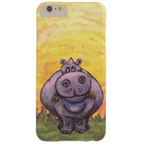 Hippopotamus Electronics Barely There iPhone 6 Plus Case