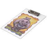 Hippopotamus Gifts & Accessories Clipboards