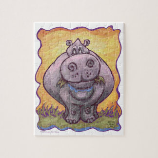 Hippopotamus Gifts & Accessories Jigsaw Puzzle