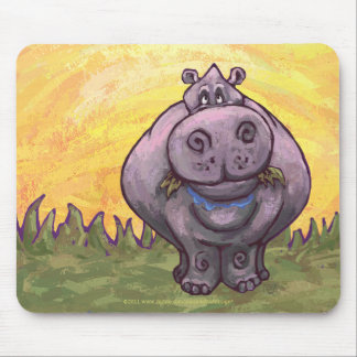 Hippopotamus Gifts & Accessories Mouse Pad