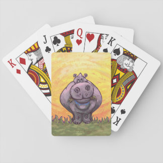 Hippopotamus Gifts & Accessories Playing Cards