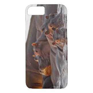 Hippopotamus, Hippopotamus amphibius, Lake iPhone 7 Case