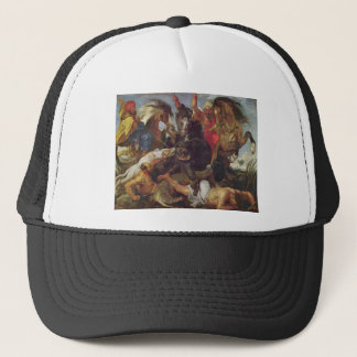 Hippopotamus Hunt Trucker Hat