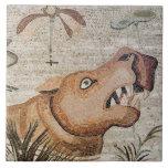 Hippopotamus, mosaico del Nilo, casa del fauno Azulejo Cuadrado Grande