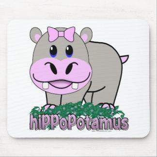 Hippopotamus Mouse Pads