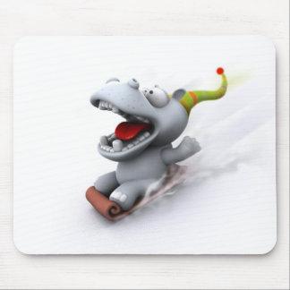 Hippopotamus Mouse Mats