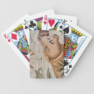 Hippopotamus, Nile mosaic, House of the Faun Bicycle Playing Cards