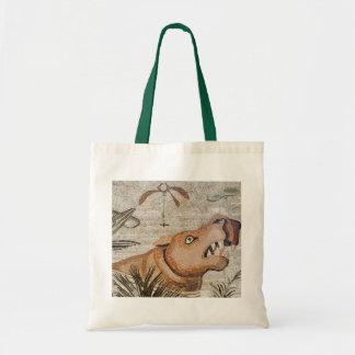 Hippopotamus, Nile mosaic, House of the Faun Budget Tote Bag