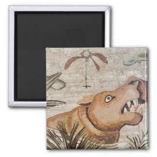 Hippopotamus, Nile mosaic, House of the Faun Magnet