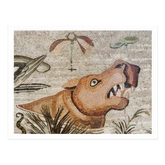 Hippopotamus, Nile mosaic, House of the Faun Post Cards