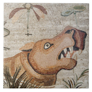 Hippopotamus, Nile mosaic, House of the Faun Tile