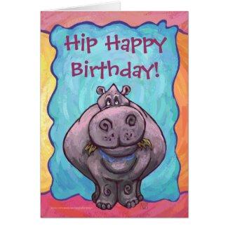 Hippopotamus Party Center