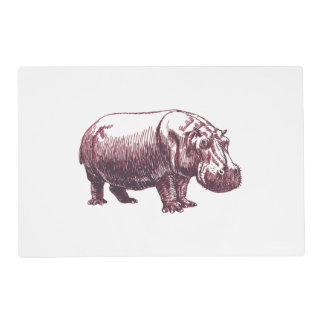 Hippopotamus Placemat