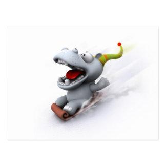 Hippopotamus Postales