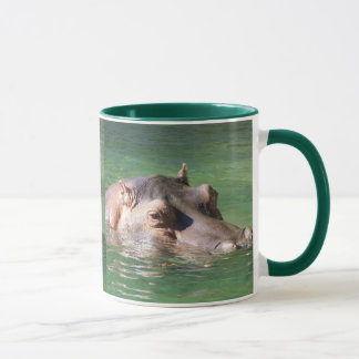 Hippopotamus Swimming On The Surface Mug