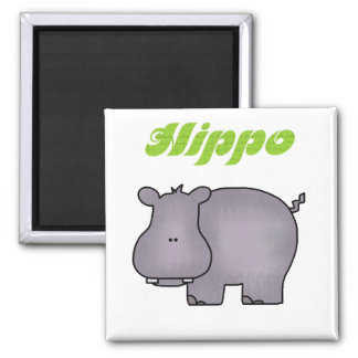 Hippopotamus Tshirts and Gifts Magnet