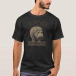 Hippopotamus Vintage WPA Zoo Poster Philadelphia T-Shirt