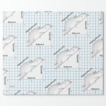 HIPPOPOTENUSE by Sandra Boynton Wrapping Paper