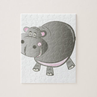 Hippopotomus Jigsaw Puzzle