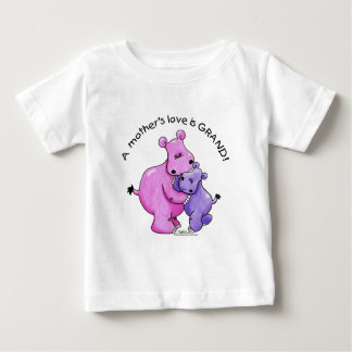 Hippos-A Mother's love is grand! Baby T-Shirt